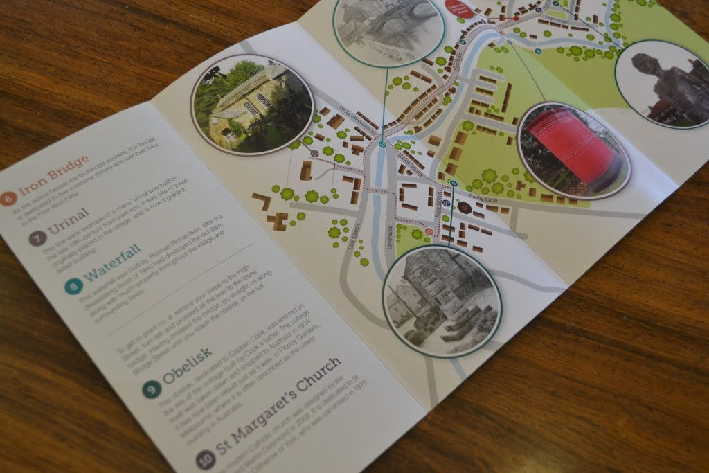 Audio trail leaflet