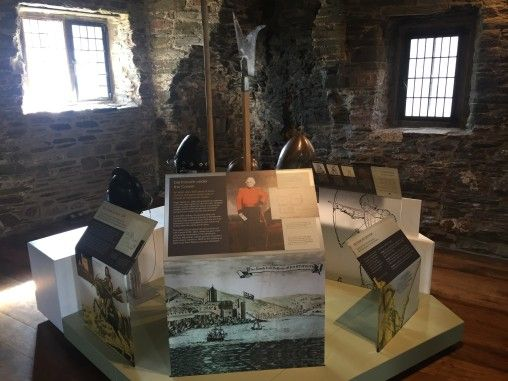 Dartmouth Castle interpretation and trail