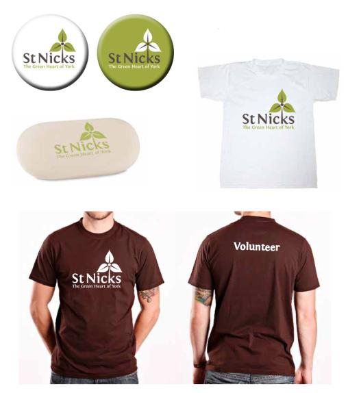 St Nicks branding