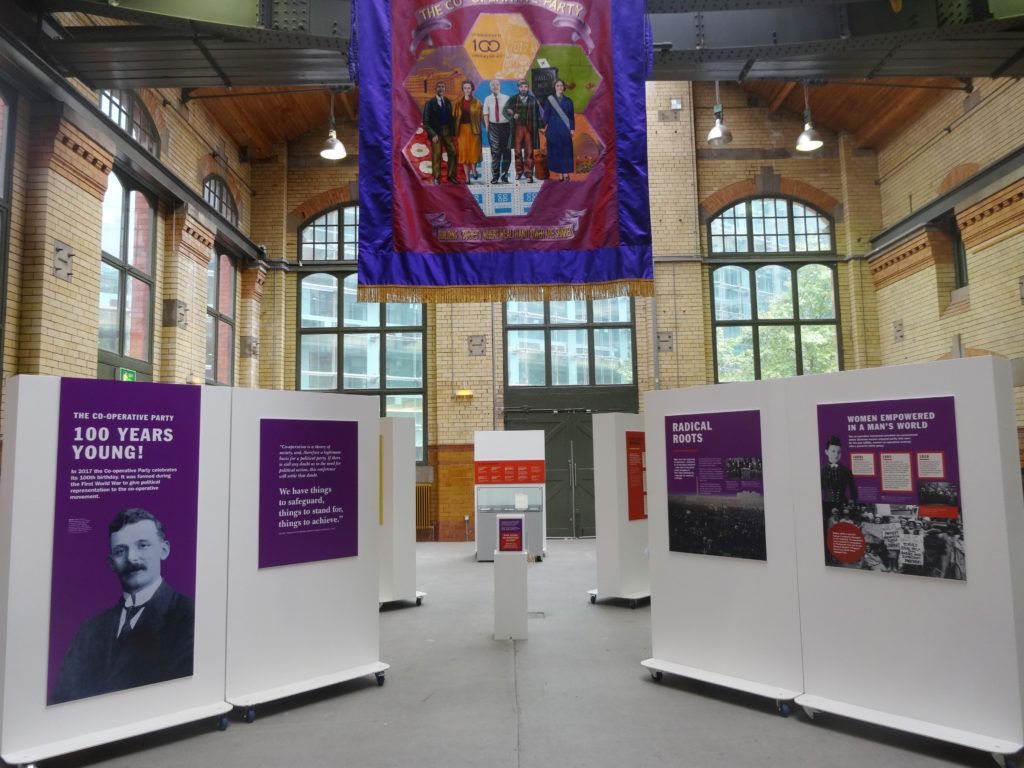 Co-operative exhibition