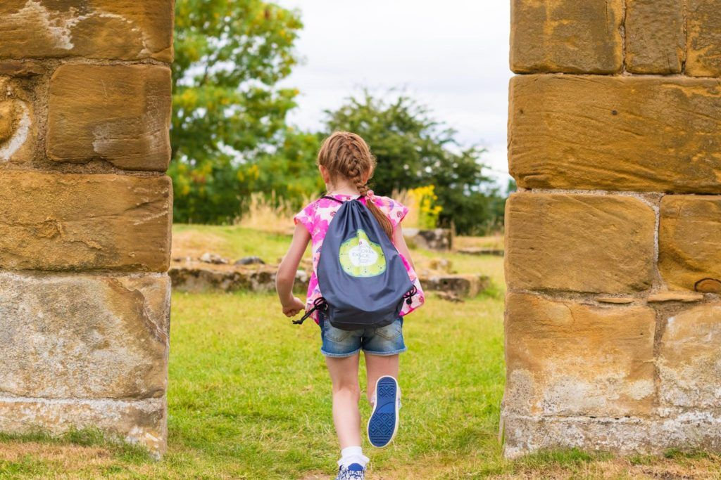 The Explorer bag (pic © English Heritage)