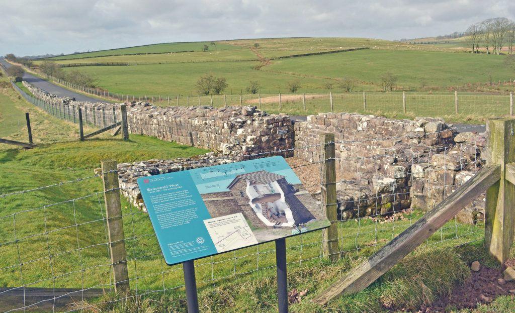 Birdoswald West, Hadrian's Wall © English Heritage