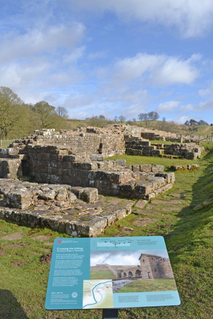 Irthing Bridge, Hadrian's Wall © English Heritage