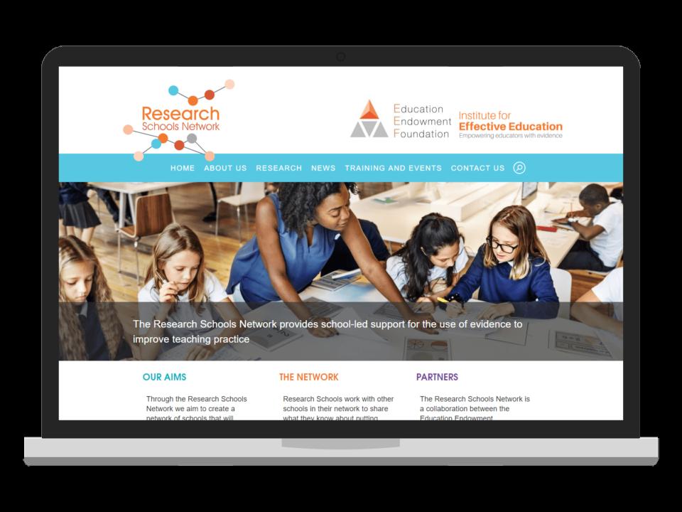 Research Schools Network website