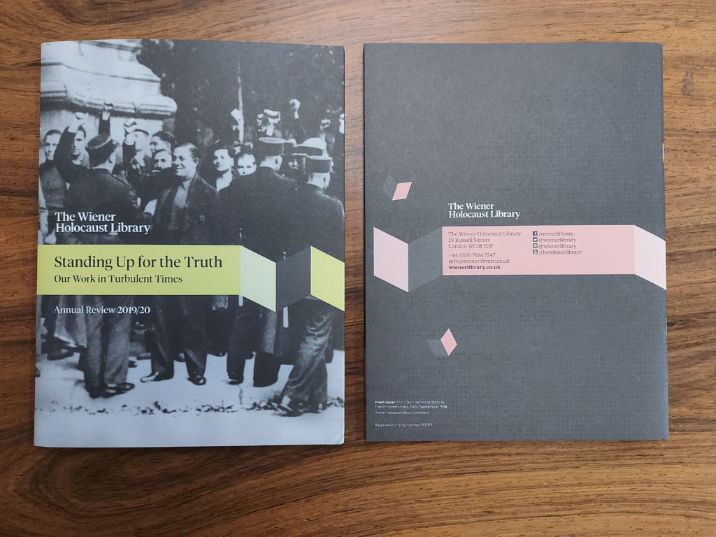 Front and back covers.